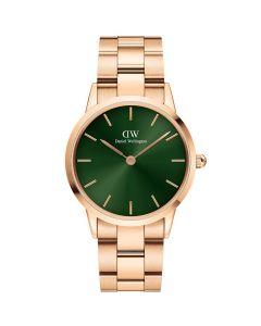Daniel Wellington ADW00100419 - Fint dameur Icoic Emerald Rose 36 Mm