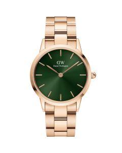 Daniel Wellington ADW00100421 - Lækkert dameur 28 Mm Iconic Emerald Rose