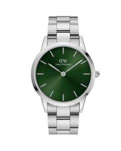 Pænt Iconic Link Emerald 40MM fra Daniel Wellington - ADW00100427